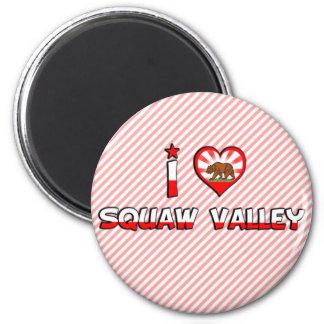Squaw Valley, CA Fridge Magnets