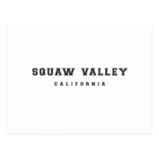 Squaw Valley California Postcard