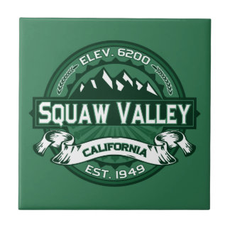 Squaw Valley Logo Tile