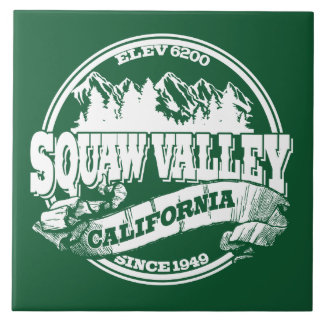 Squaw Valley Old Circle Green Tiles