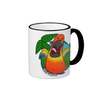 Squawking Sun Conure Mug