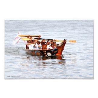 Squaxin Island Canoe Journey Photo Print
