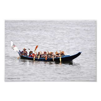 Squaxin Island Canoe Journey Photograph