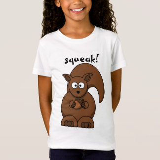 squeak! a cute squirrel with an acorn T-Shirt