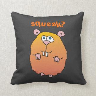 Squeak Funny Hamster Pillow