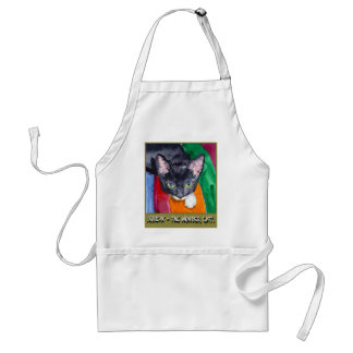 Squeak - The Wonder Cat! Adult Apron