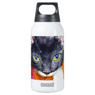Squeak - The Wonder Cat! Insulated Water Bottle