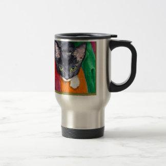 Squeak - The Wonder Cat! Travel Mug