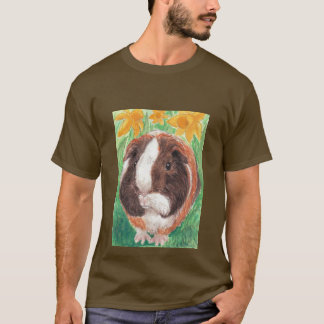 Squeaker and daffodils T-Shirt