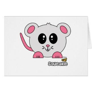 Squeakie Pudgie Pet Card
