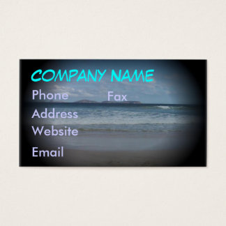Squeaky Beach 1 Business Card