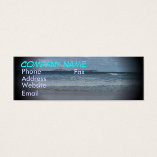 Squeaky Beach 1 Mini Business Card