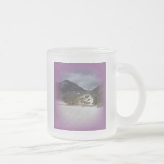 Squeaky Beach 2 Frosted Glass Coffee Mug
