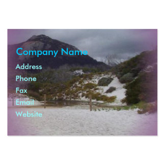 Squeaky Beach 2 Large Business Card