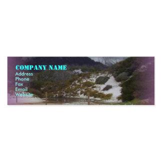 Squeaky Beach 2 Mini Business Card