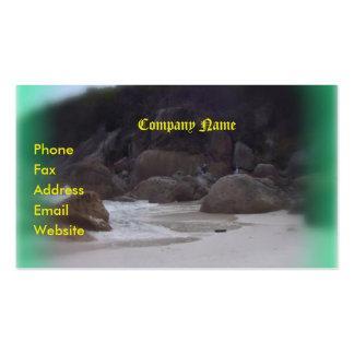 Squeaky Beach 3 Business Card