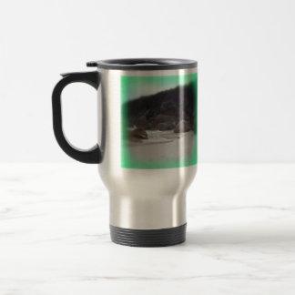 Squeaky Beach 3 Coffee Mugs