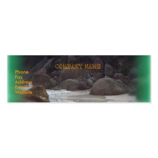 Squeaky Beach 3 Mini Business Card