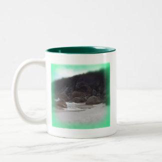 Squeaky Beach 3 Two-Tone Coffee Mug