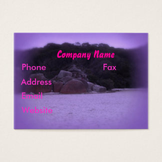 Squeaky Beach 4 Business Card