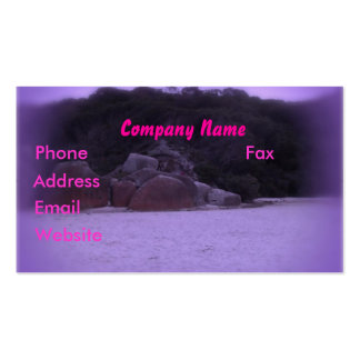 Squeaky Beach 4 Business Card