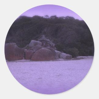 Squeaky Beach 4 Classic Round Sticker