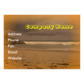 Squeaky Beach 5 Large Business Card