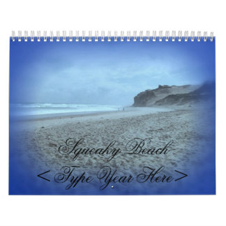 Squeaky Beach Calendar
