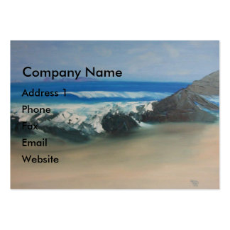 Squeaky Beach Large Business Card