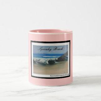 Squeaky Beach Mugs