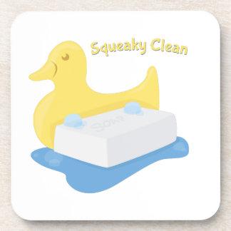 Squeaky Clean Beverage Coaster
