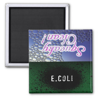 Squeaky Clean/E.Coli Dishwasher Magnet