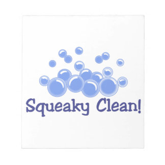 Squeaky Clean Notepad
