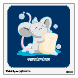 Squeaky Clean Wall Sticker