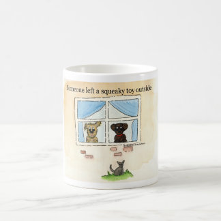 Squeaky Toy Classic White Mug