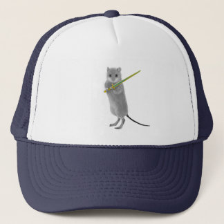 Squeaky, Warrior Mouse Trucker Hat