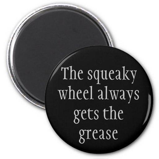 Squeaky Wheel magnet