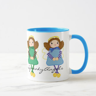 SqueakyAngels Mug Blue
