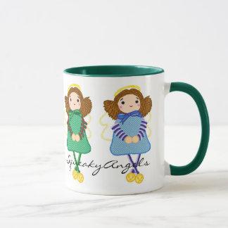 SqueakyAngels Mug Green