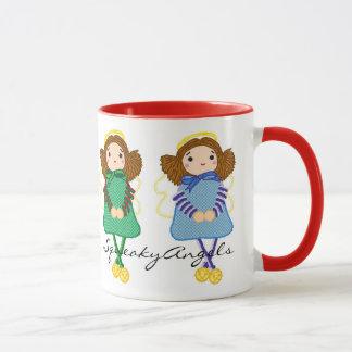 SqueakyAngels Mug RED