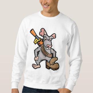 SqueakyBoot Illustration Emblem Apparel Sweatshirt