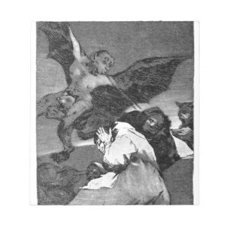 Squealers? by Francisco Goya Note Pads
