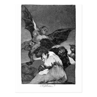 Squealers? by Francisco Goya Postcard