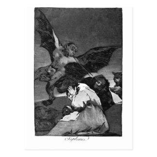 ¿Squealers de Francisco Goya-? Postal