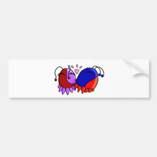 squee smooch bumper sticker