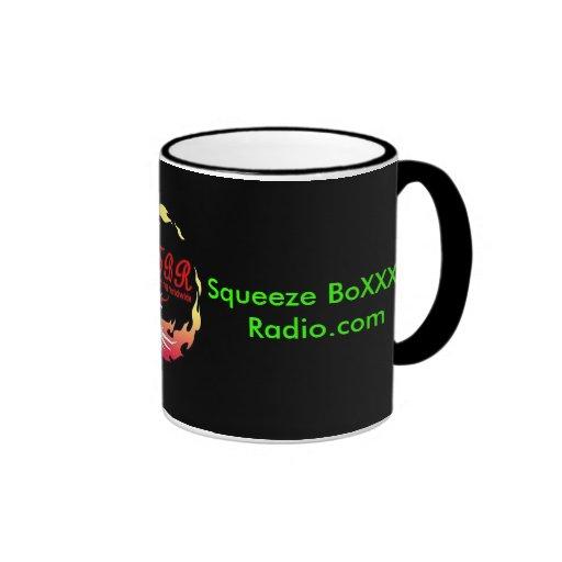 Squeeze BoXXX Radio.com, Squeezed OrBe S... Coffee Mug