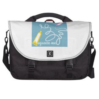 Squeeze Me Laptop Messenger Bag