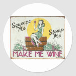Squeeze Me, Stomp Me Sticker