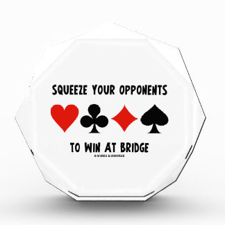 Squeeze Your Opponents To Win At Bridge Card Suits Award