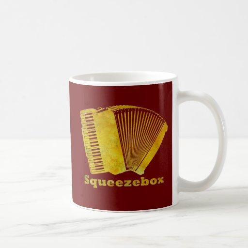 Squeezebox Taza Básica Blanca